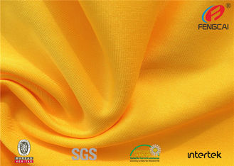China Waterproof stretch Polyester spandex Knitted fabric for school sports uniform supplier