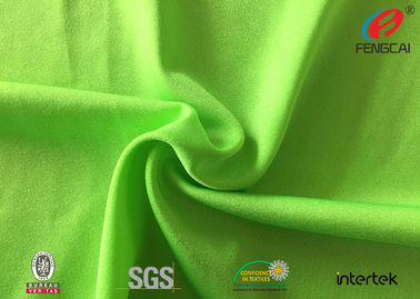 China elastic waterproof and dry - fit nylon spandex fabric for yoga cloth supplier