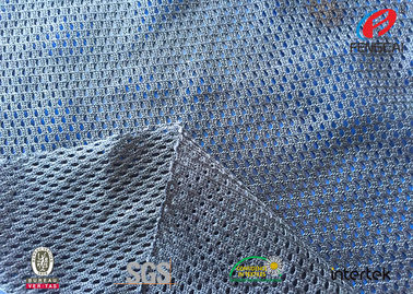 Breathable Sportswear Mesh Fabric , 100 Polyester Jersey Mesh Fabric Durable
