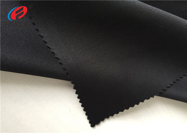 Polyester Spandex Weft Knitted Fabric Plain Dyeing Scuba Knitted Air Layer Fabric