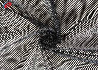 Custom Colour Big Hole 100% Polyester Sports Mesh Fabric , Breathable Mesh Textile For Bag