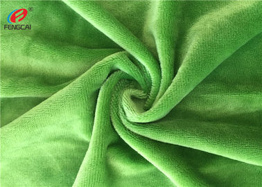 China 190GSM 3MM Pile Soft Fleece Fabric , Polyester Knitted Blanket Fabirc supplier