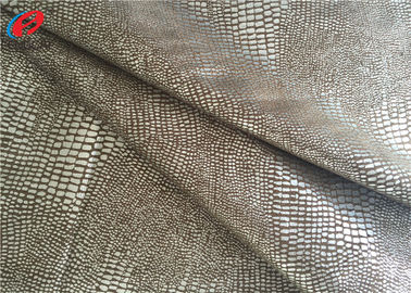 China 60 Inch Waterproof Non-Stretchr Micro Suede Polyester Fabric For Sofa / Garment supplier