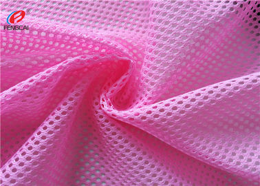 China 100% Polyester 3D Air Knitted Polyester Mesh Fabric For Garment / Shoes / Home Textile supplier