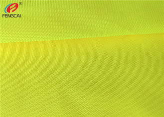 China Yellow Polyester Fluorescent Material Fabric supplier