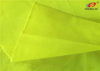 China Tricot Warp Knitting Flag Fluorescent Material Fabric For Safety Vests supplier