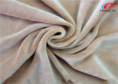 China Warp Knitting Korea KS 4 Way Stretch Velvet Fabric For Dresses , Glitter Stretch Fabric supplier