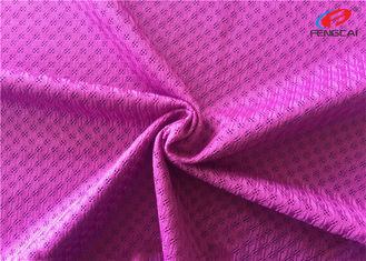 Moisture Wicking Polyester Sports Mesh Fabric For Garment Lining