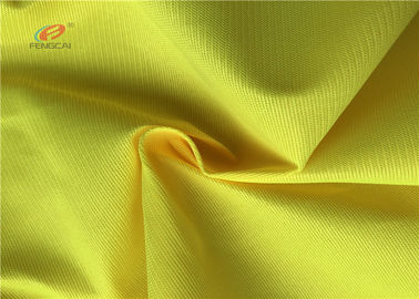 China 75D Fluorescent Material Fabric For Traffic Police Uniform supplier