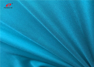 China Warp Knitted Dull Elastic Turquoise Lingerie Fabric 92% Nylon 8% Spandex  Lycra Fabric supplier