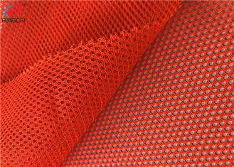 China Polyester Fluorescent Material Fabric Tricot Mesh Fabric Safety Uniform Material supplier