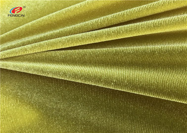 China Solid Colour Plain Dyed 90 Polyester 10 Spandex Fabric 220gsm For Dress supplier