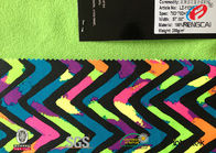 Good Quality Polyester Spandex Fabric & No Pill Fleece Lining Fabric With Tpu , Multi Colored Plush Fleece Fabric on sale