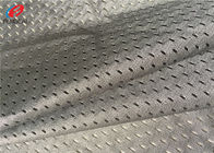 China 100% Polyester Sports Mesh Fabric Net Knitted Fabric For Lining In Grey Color factory