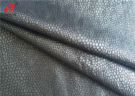 China Bronzing Knitted Suede Fabric , 100% Polyester Sofa Fabric , Upholstery Use factory