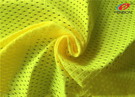 China Warp Knitted EN471 Fluorescent Material Fabric Mesh Vest Reflective Material factory