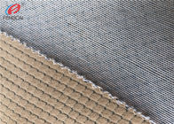 China Brushed Polyester Jacquard Sofa Velvet Upholstery Fabric Composite Velboa Fabric factory