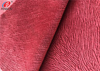 Burnout Synthetic Sofa Velvet Upholstery Fabric Custom Colour Polyester Minky Fabric