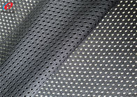 Tricot Knitted Breathable Lining Fabric 100 Percent Polyester For Garment