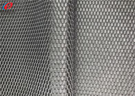Bright Snake Skin Sports Mesh Fabric Polyester Knitted Fabric For Basketball Shorts