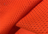 155cm 100gsm 1.5mm Fluorescent Mesh Fabric For Manufacturing Plant