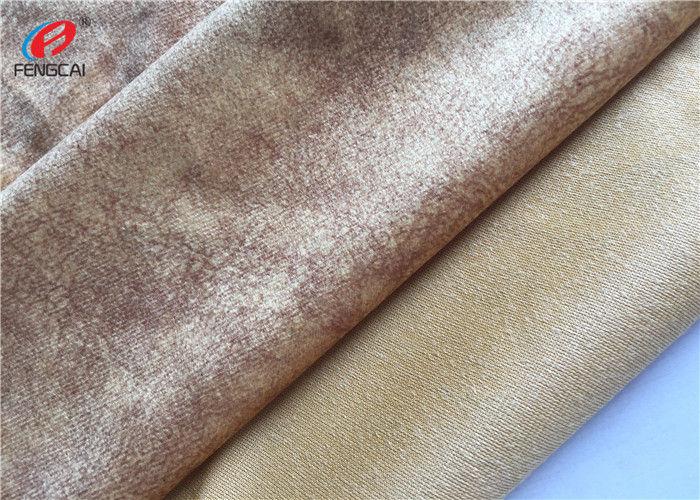 Micro Fleece Tricot Fabric Custom Dyed