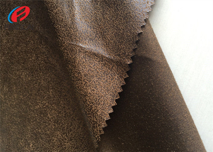 100 Polyester Fake Leather Sofa Fabric