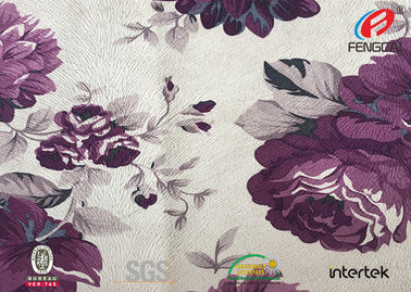 China 300gsm Burnout Muslin Sofa Velvet Upholstery Fabric Custom Logo Printable distributor