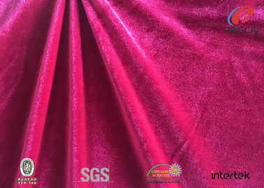 China Home Textile Spandex Velvet Fabric Blanket Material One Side Warp 290SM factory