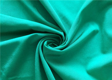 Breathable Polyester Spandex Weft Knitted Fabric Swimwear Material 180cm Width