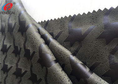China Knitted Faux Micro Suede Polyester Fabric Embossed Home Textile Material For Upholstery distributor