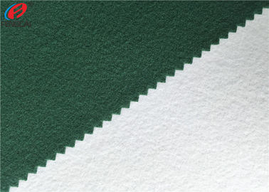 Warp Knitting Brushed Polyester Tricot Fleece Fabric School Uniform Material