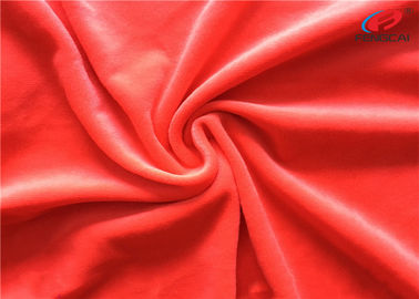 China Anti - Pilling Polyester Spandex Velvet Fabric Stretch Knitted Minky Fabric For Toys distributor