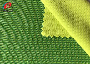 China 100% Polyester Melange Lattice Bird Eye Mesh Fabric , Weft Knitting Fabric distributor
