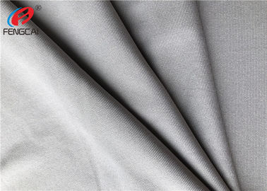 China Grey 4 Way Lycra Jersey Material Polyester Spandex Blend Fabric For Sports distributor