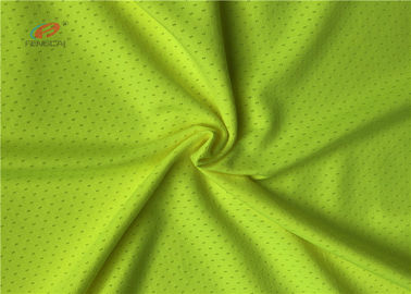 China Plain Deyed Sports Mesh Fabric Clothing Material Knitting Shrink - Resistant distributor