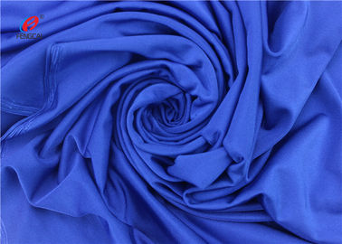 China Shiny 87% Polyester 13% Spandex 4 Way Lycra Fabric For Yoga Jersey Fabric distributor