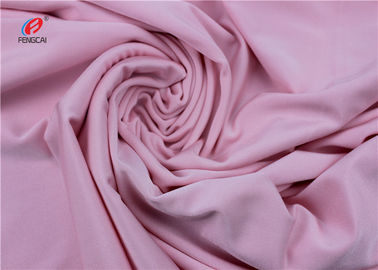 China Dry Fit Solid Color Nylon Lycra Spandex Fabric , Lycra Swimwear Fabric factory