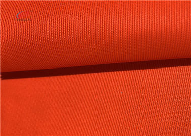 China 150D Polyester Fluorescent Orange Fabric Waterproof Oxford For Life Jacket factory