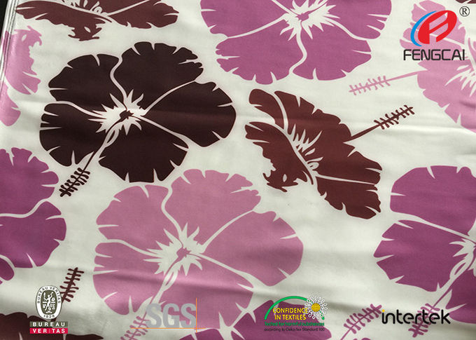printing polyester spandex fabric / lycra fabric sublimation printing / custom printed spandex fabric