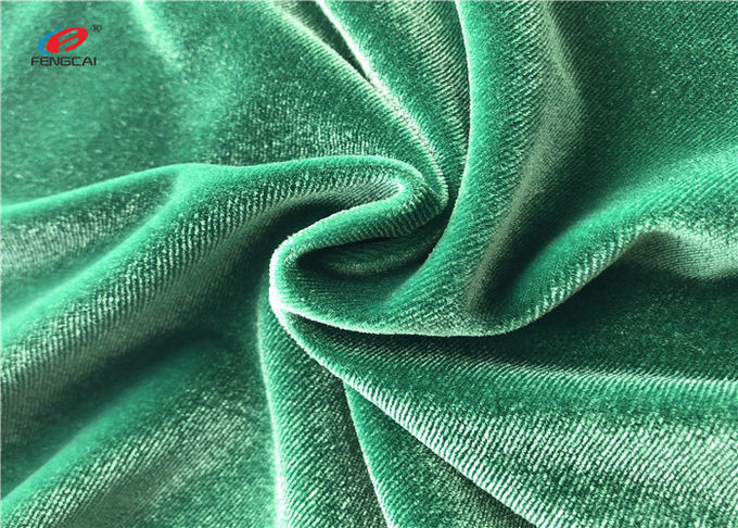 Solid Colour Plain Dyed 90 Polyester 10 Spandex Fabric 220gsm For Dress